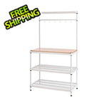 Design Ideas MeshWorks Utility Storage Rack (White)