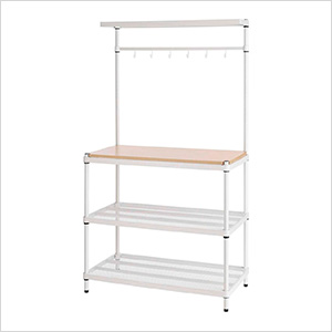 MeshWorks Utility Storage Rack (White)