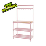 Design Ideas MeshWorks Utility Storage Rack (Pink)