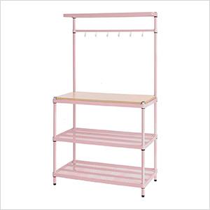 MeshWorks Utility Storage Rack (Pink)