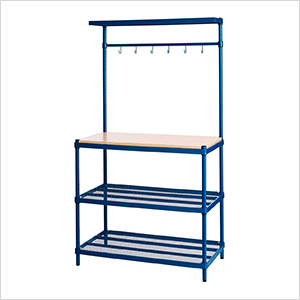MeshWorks Utility Storage Rack (Blue)