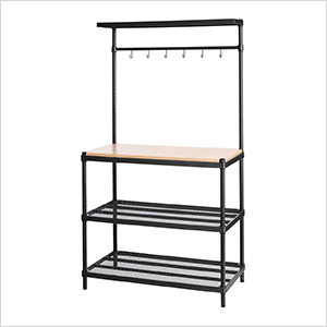 MeshWorks Utility Storage Rack (Black)