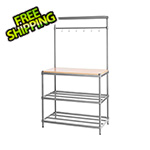 Design Ideas MeshWorks Utility Storage Rack (Silver)