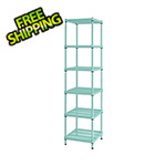 Design Ideas MeshWorks Narrow Shelving Unit (Sage)