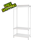 Design Ideas MeshWorks Clothing Rack (White)
