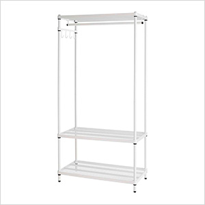MeshWorks Clothing Rack (White)