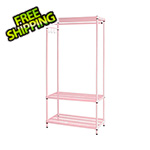 Design Ideas MeshWorks Clothing Rack (Pink)
