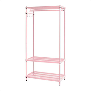MeshWorks Clothing Rack (Pink)