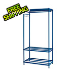 Design Ideas MeshWorks Clothing Rack (Blue)