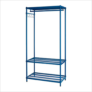 MeshWorks Clothing Rack (Blue)