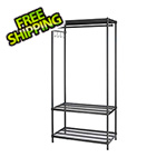 Design Ideas MeshWorks Clothing Rack (Black)