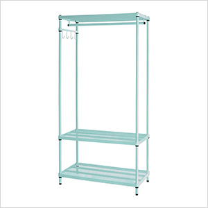 MeshWorks Clothing Rack (Sage)