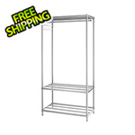 Design Ideas MeshWorks Clothing Rack (Silver)
