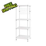 Design Ideas MeshWorks Utility Grid Rack (White)
