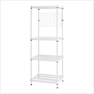 MeshWorks Utility Grid Rack (White)