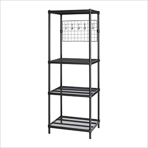 MeshWorks Utility Grid Rack (Black)