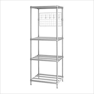 MeshWorks Utility Grid Rack (Silver)