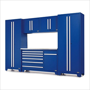 Fusion Pro Series 6-Piece Garage Cabinet Set