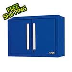 Proslat Fusion Pro Blue Wall Mounted Garage Cabinet