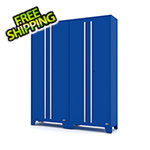 Proslat Fusion Pro Blue Tall Garage Cabinets (2-Pack)