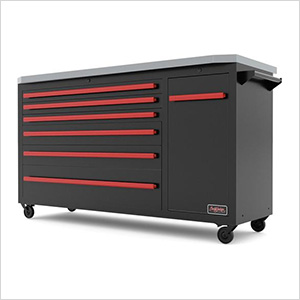 Black and Red Tool Chest Combo