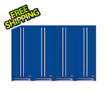 Proslat Fusion Pro Blue Tall Garage Cabinets (4-Pack)