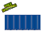 Proslat Fusion Pro Blue Tall Garage Cabinets (6-Pack)