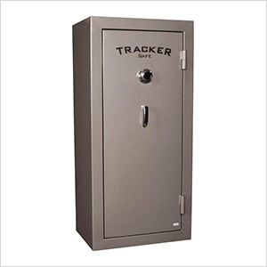 22-Gun Fire-Resistant Gun Safe with Dial Lock