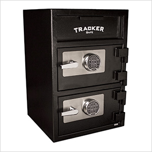 Dual Depository Safe with Electronic Locks