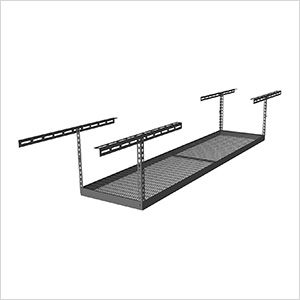 "2'x8' Overhead Storage Rack 12""-21"" Drop"