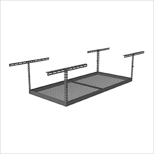 "4'x6' Overhead Storage Rack 12""-21"" Drop"