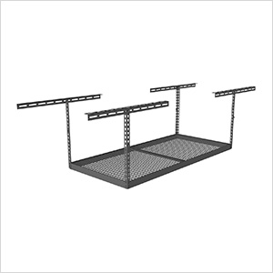 "4'x6' Overhead Storage Rack 18""-33"" Drop"