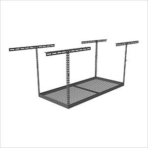"""4'x6' Overhead Storage Rack 24""""-45"""" Drop"""