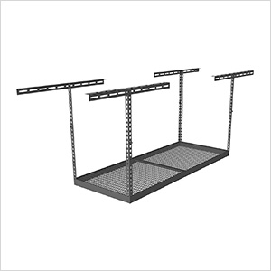 "3'x6' Overhead Storage Rack 24""-45"" Drop"
