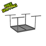 "SafeRacks 4'x4' Overhead Storage Rack 18""-33"" Drop"