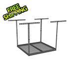 "SafeRacks 4'x4' Overhead Storage Rack 24""-45"" Drop"