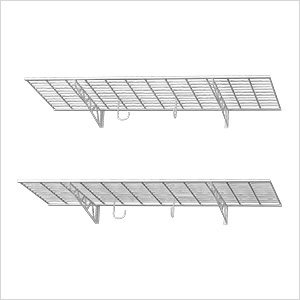 "48"" x 18"" Wall Shelves (2-Pack)"