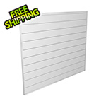 Proslat 4' x 4' PVC Wall Panels and Trims (White)