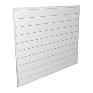 4' x 4' PVC Wall Panels and Trims (White)