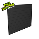 Proslat 4' x 4' PVC Wall Panels and Trims (Charcoal)