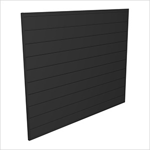 4' x 4' PVC Wall Panels and Trims (Charcoal)