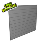Proslat 4' x 4' PVC Wall Panels and Trims (Light Grey)