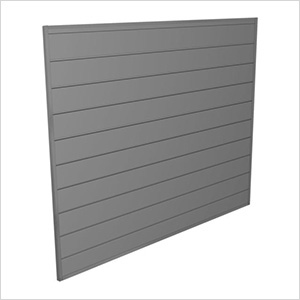4' x 4' PVC Wall Panels and Trims (Light Grey)
