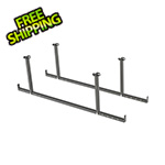 NewAge Overhead Storage VersaRac Hanging Bars (2-Pack)