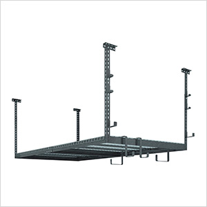VersaRac 4' x 8' Adjustable Ceiling Rack with 10 Piece Accessory Kit