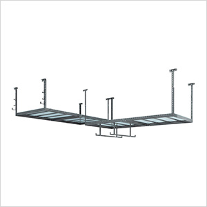 VersaRac 4' x 8' Two Adjustable Ceiling Rack with 8 Piece Accessory Kit