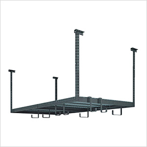 VersaRac 4' x 8' Adjustable Ceiling Rack with 8 Piece Accessory Kit