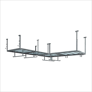 VersaRac 4' x 8' Two Adjustable Ceiling Rack with 14 Piece Accessory Kit