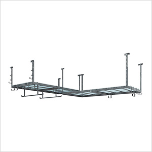 VersaRac 4' x 8' Two Adjustable Ceiling Rack with 20 Piece Accessory Kit