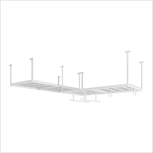 VersaRac 4' x 8' Two Adjustable Ceiling Racks with 12 Piece Accessory Kit